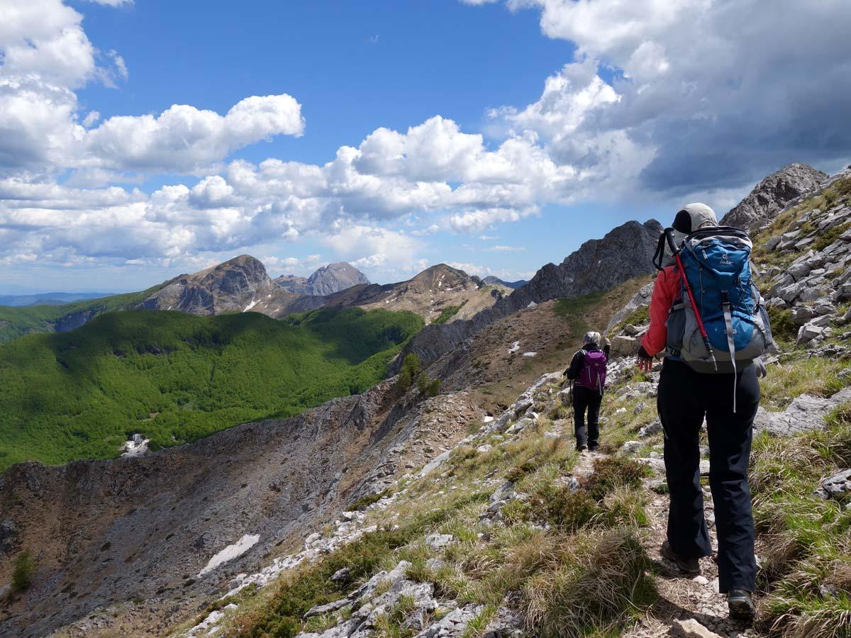 Alpi Apuane, Garfagnana, passo Focolaccia