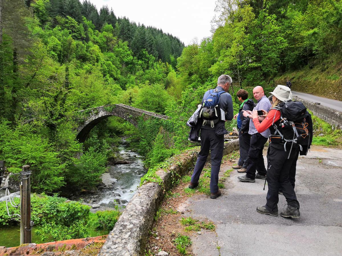 ponte medievale di Castiglione di Garfagnana
