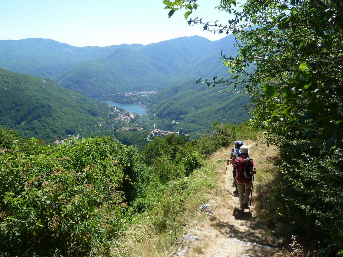 Lago di Vagli, Alpi Apuane, Garfagnana